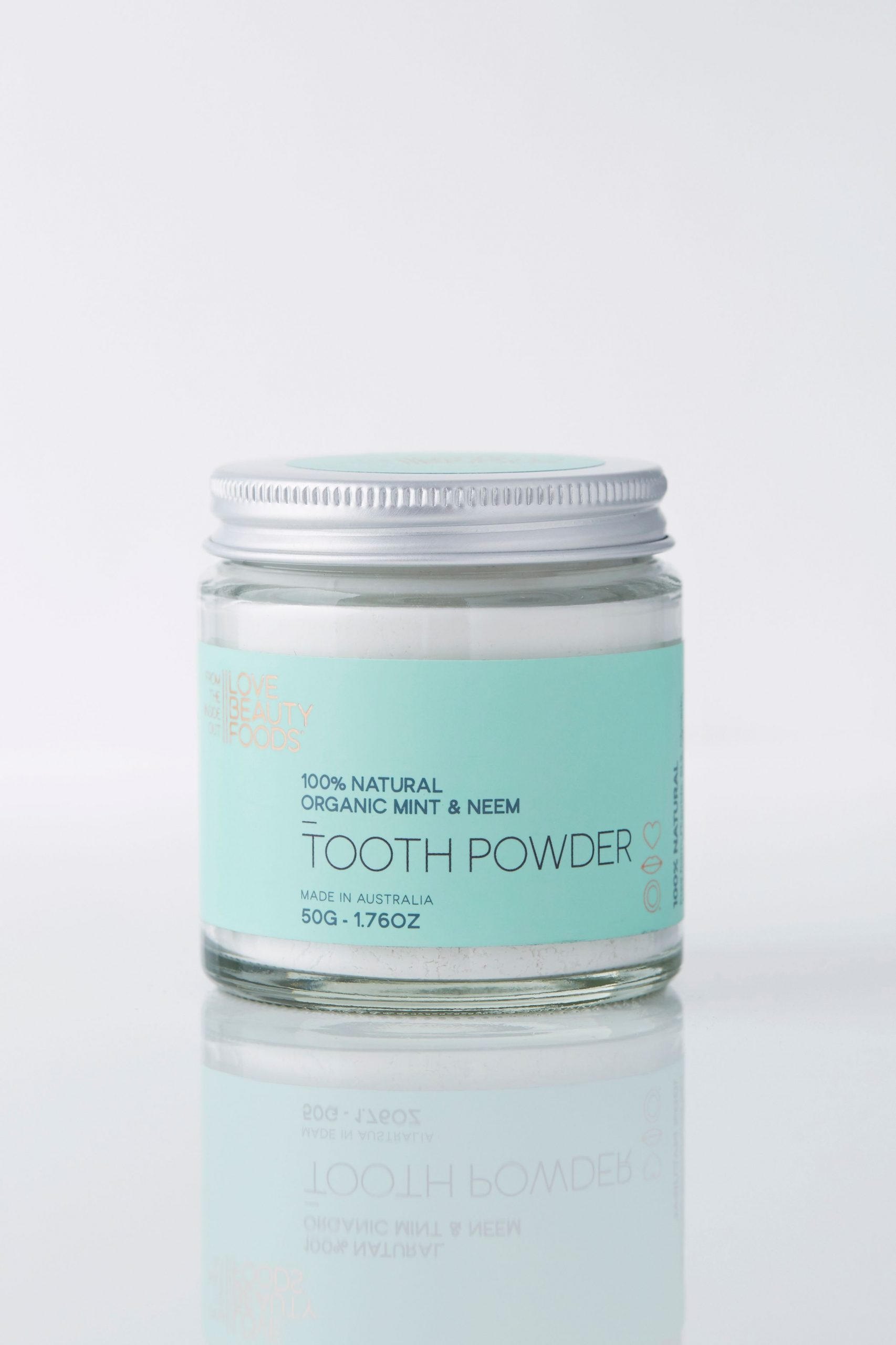 Mint & Neem Eco Toothpaste Powder - Blue and Sunny Sustainable Online Store