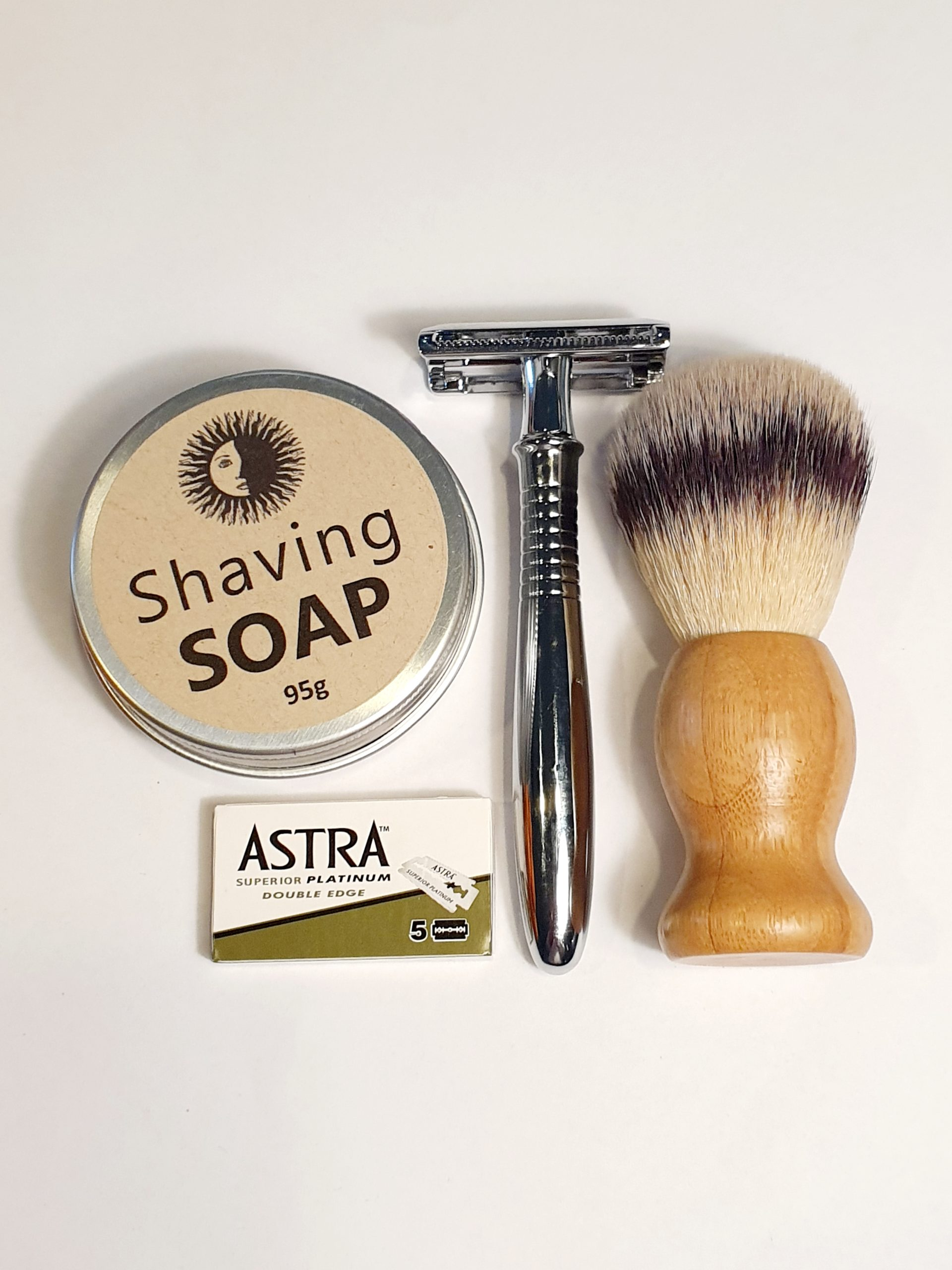 Eco Shaving Kit - Blue and Sunny Sustainable Online Store