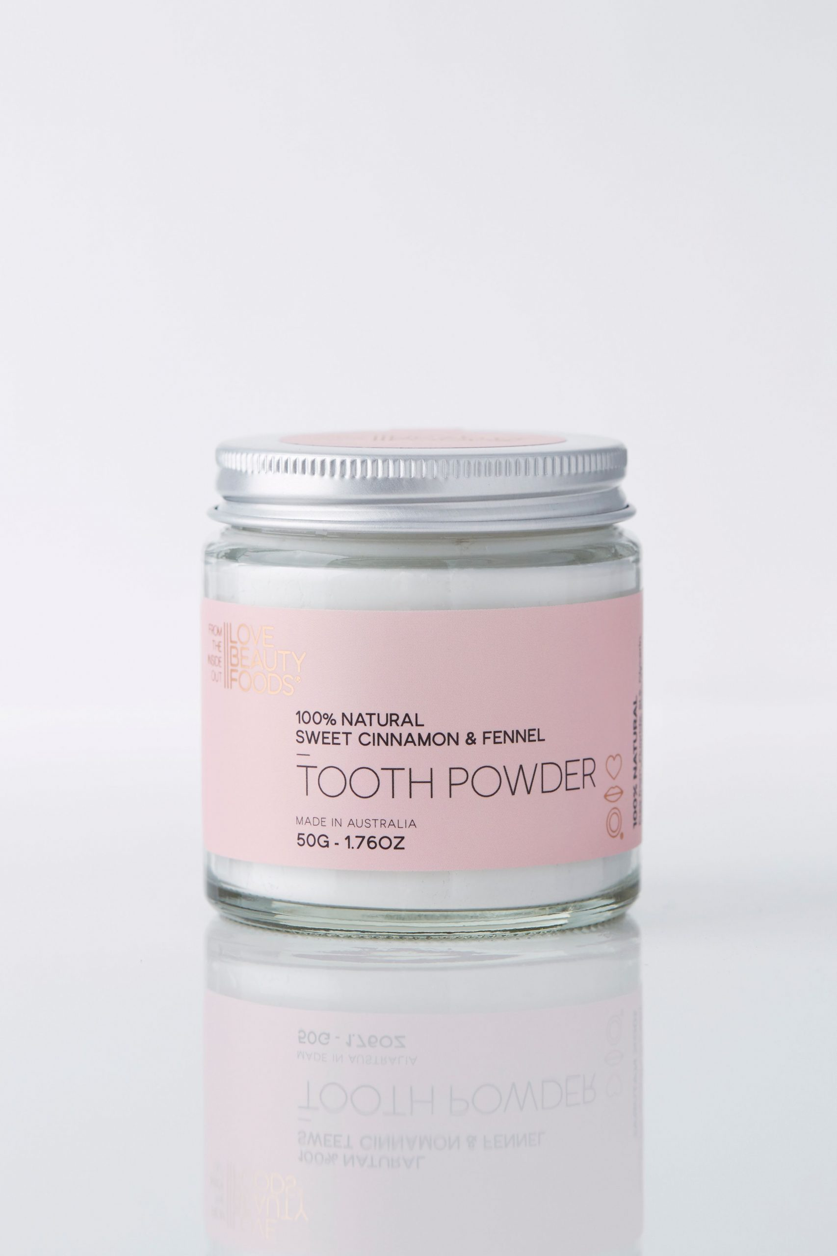 Sweet Cinnamon & Fennal Eco Toothpaste Powder - Blue and Sunny Sustainable Online Store
